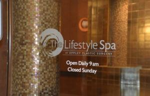 Lifestyle Spa front door