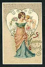 Early 20th Century Valentine's Day card