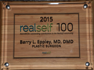 Real Self 100 2015 Dr Barry Eppley Indianapolis