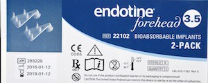 endotine browlift devices dr barry eppley indianapolis