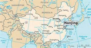 Nanjing China map